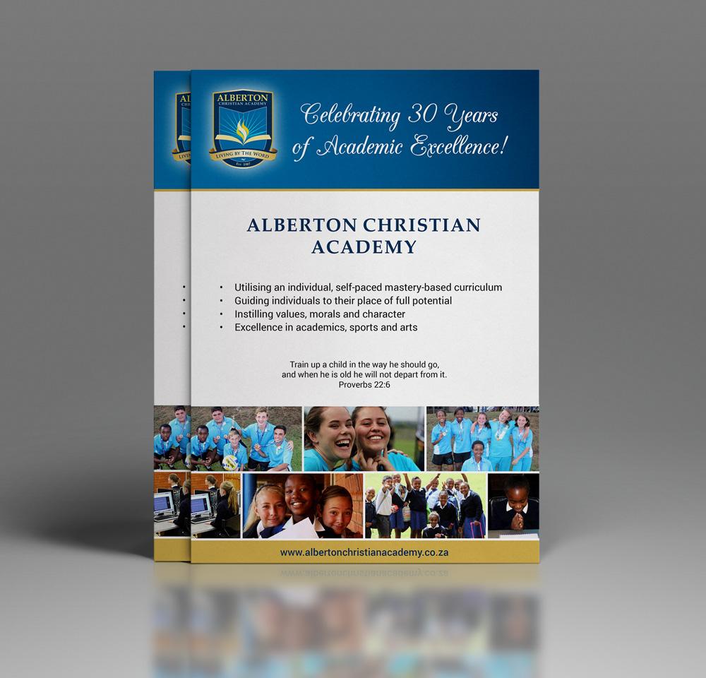 Alberton Christian Academy flyers