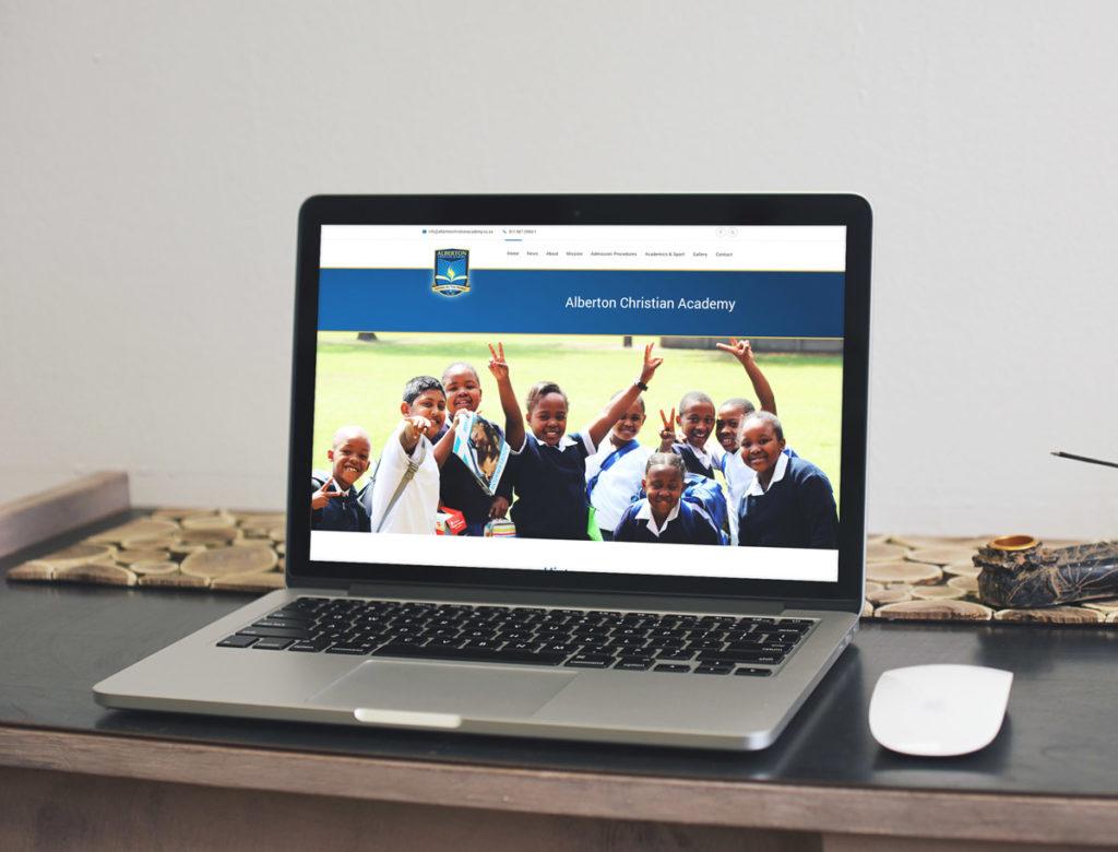 Alberton Christian Academy website