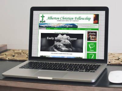 Alberton Christian Fellowship website