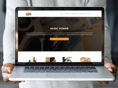 Music Power website