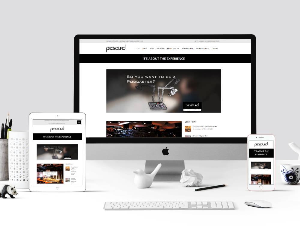 Prosound website